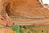 Biker at 16 House Ruin on Navajo Res  near Bluff, Utah - 19 - 72 ppi