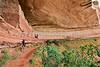 Biker at 16 House Ruin on Navajo Res  near Bluff, Utah - 13 - 72 ppi
