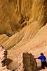 Biker at 16 House Ruin on Navajo Res  near Bluff, Utah - 34 - 72 ppi