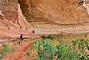 Biker at 16 House Ruin on Navajo Res  near Bluff, Utah - 17 - 72 ppi