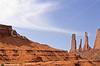 Mountain biker in Monument Valley Navajo Tribal Park on Utah-Arizona border - 2 - 72 ppi