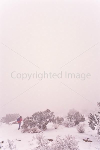 Hiker in Canyonlands National Park, Utah - 26 - 72 ppi