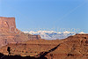 Hiker in Canyonlands National Park, Utah - 13 - 72 ppi