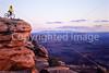 Mountain biker at Dead Horse Point State Park, Utah - 3 - 72 ppi