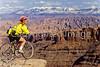 Mountain biker at Dead Horse Point State Park, Utah - 7 - 72 ppi