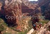 HI ut zion 2 - ORps - jpeg - Hikers in Utah's Zion National Park