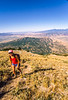 Hiker(s) on route to Lone Peak in Wasatch Mountains near Salt Lake -7 - 72 ppi