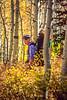 Hiker(s) on unnamed trail near Park City, Utah -28 - 72 ppi