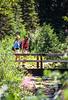 Hikers on Utah's Red Pine Lake Trail near Salt Lake City - -8 - 72 ppi