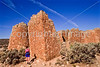 Hiker at Hovenweep National Monument on Utah-Colorado border - 32 - 72 ppi