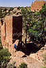 Hiker at Hovenweep National Monument on Utah-Colorado border - 19 - 72 ppi