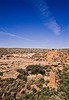 Hiker at Hovenweep National Monument on Utah-Colorado border - 16 - 72 ppi
