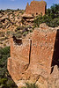Hiker at Hovenweep National Monument on Utah-Colorado border - 21 - 72 ppi