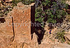Hiker at Hovenweep National Monument on Utah-Colorado border - 11 - 72 ppi