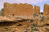 Biker at Hovenweep National Monument on Utah-Colorado border - 10 - 72 ppi