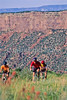 Mountain biker(s) at Devil's Camp above Fisher Towers near Castle Valley, Utah - 16 - 72 ppi