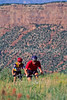 Mountain biker(s) at Devil's Camp above Fisher Towers near Castle Valley, Utah - 11 - 72 ppi