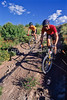 Mountain biker(s) at Devil's Camp above Fisher Towers near Castle Valley, Utah - 5 - 72 ppi