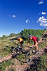 Mountain biker(s) at Devil's Camp above Fisher Towers near Castle Valley, Utah - 9 - 72 ppi