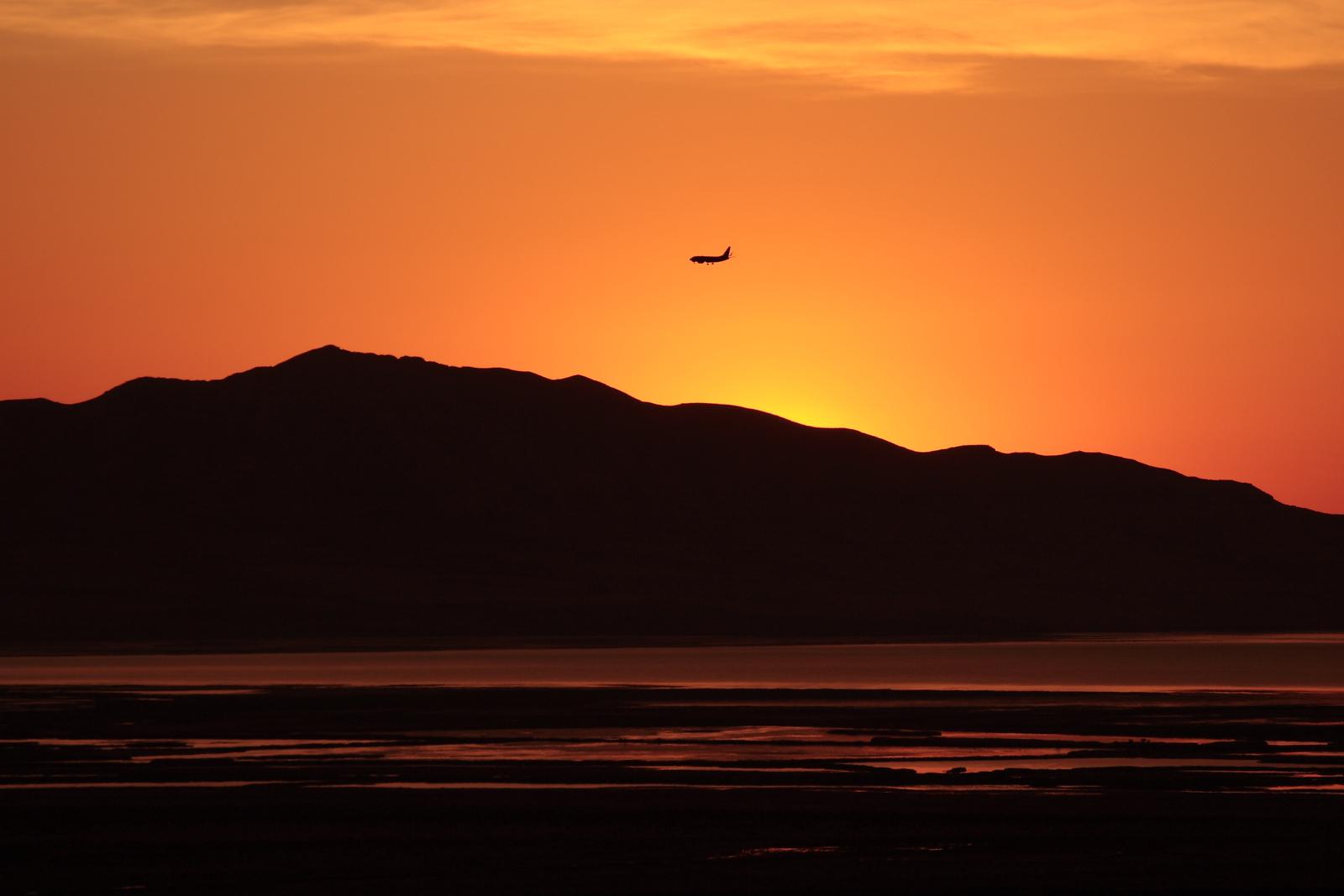 North Salt Lake Sunset