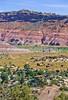 Mountain biker; Old West Paria movie set in Utah -38 - 72 ppi