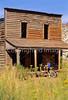 Mountain biker; Old West Paria movie set in Utah - 7 - 72 ppi