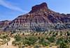 Mountain biker; Old West Paria movie set in Utah -31 - 72 ppi