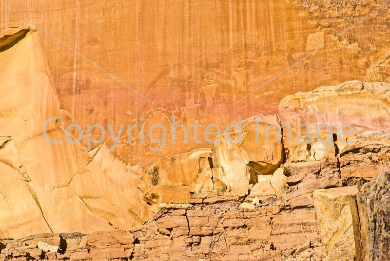 Petroglyph - Capitol Reef National Park, Utah - 1 - 72 ppi