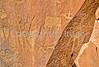Petroglyph - Newspaper Rock in Indian Creek State Park in southern Utah - 2 - 72 ppi