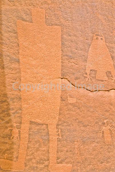 Petroglyph - on Amassa Back Trail near Moab, Utah - 3 - 72 ppi