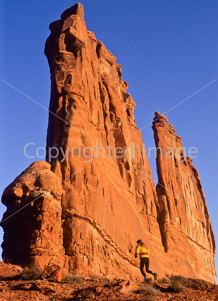Runner in Arches National Park, Utah - 5#2 - 72 ppi