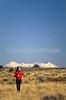 Runner on Gemini Bridges Trail near Moab, Utah - 4 - 72 ppi