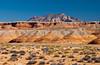 Desert geology, Mount Ellsworth near Ticaboo, Utah, USA, America.