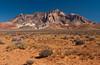 Mount Ellsworth in the desert near Ticaboo, Utah, USA, America.