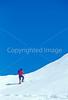 SN ut wstc 23 - ORps - Backpacker on snowshoes in Utah's Wasatch Mountains near Salt Lake City, Utah - 72 ppi