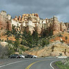 Hwy 12 to Bryce Canyon (entrance to Mossy Cave hike)
