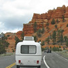 Turning into Red Canyon campground