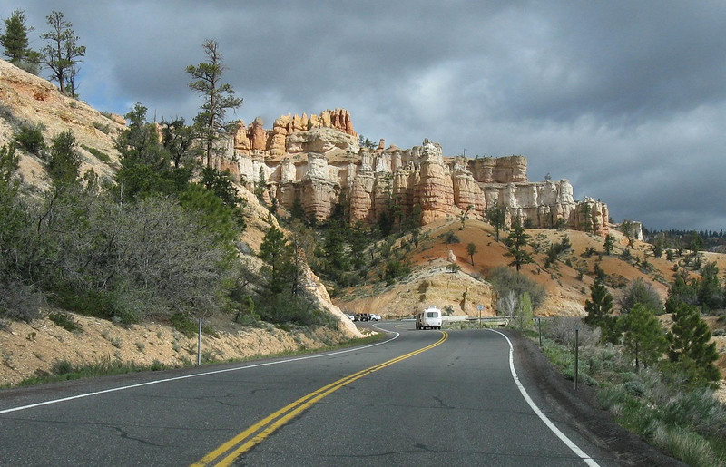 Scenic Hwy 12 to Bryce Canyon. Getting closer!
