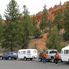 Casita staging area for trip to Zion