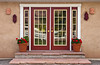 Doorway and building entrance in Bluff, Utah, USA, America.