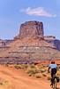Mountain biker(s) on White Rim Trail - 259#2 - 72 ppi