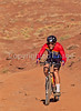 Mountain biker(s) on White Rim Trail - 367#2 - 72 ppi