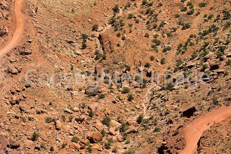Mountain biker(s) on White Rim Trail - 235 - 72 ppi