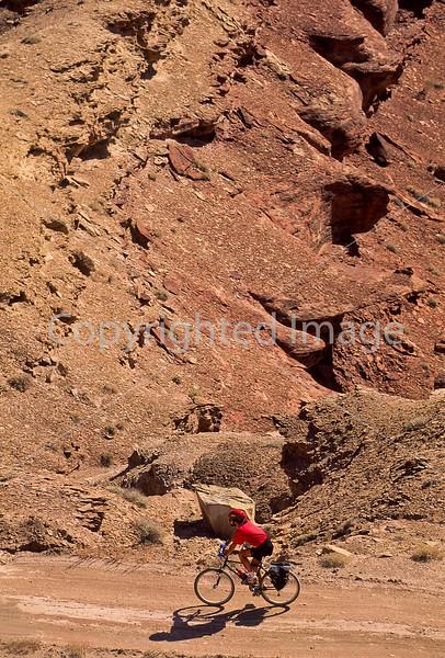 Mountain biker(s) on White Rim Trail - 308 - 72 ppi