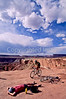 Mountain biker(s) on White Rim Trail - 301 - 72 ppi