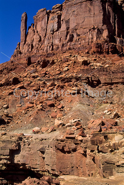 Mountain biker(s) on White Rim Trail - 390 - 72 ppi