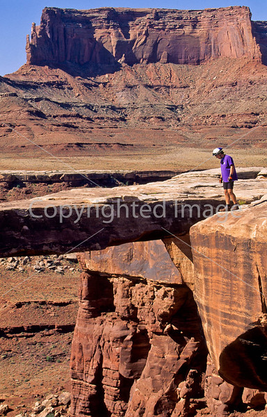 Mountain biker(s) on White Rim Trail - 394 - 72 ppi