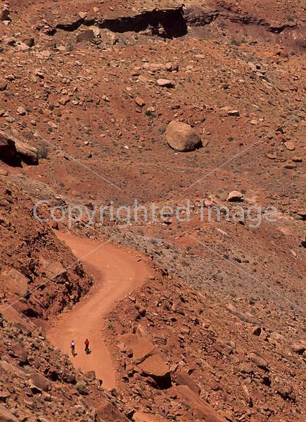 Mountain biker(s) on White Rim Trail - 326#2 - 72 ppi