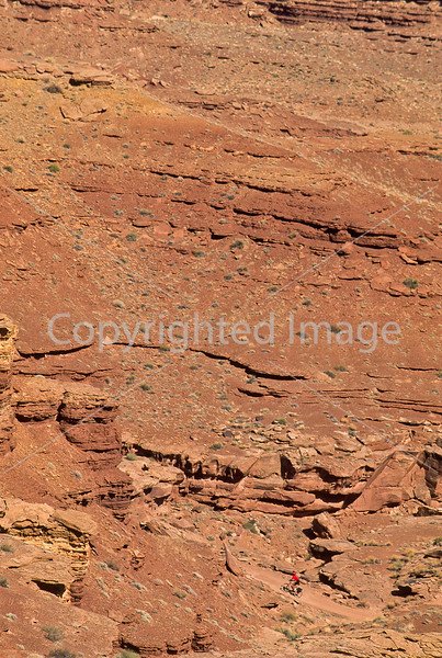 Mountain biker(s) on White Rim Trail - 359 - 72 ppi