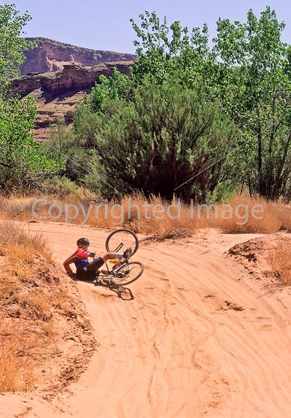 Mountain biker(s) on White Rim Trail - 384 - 72 ppi